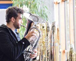 IBK Ausstellung Euphoniumspieler