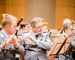 Reservistenmusikzug 28 als Workshoporchester