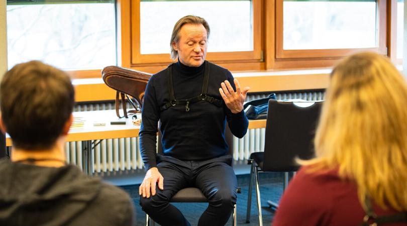 Saxophon-Workshop mit Hans de Jong