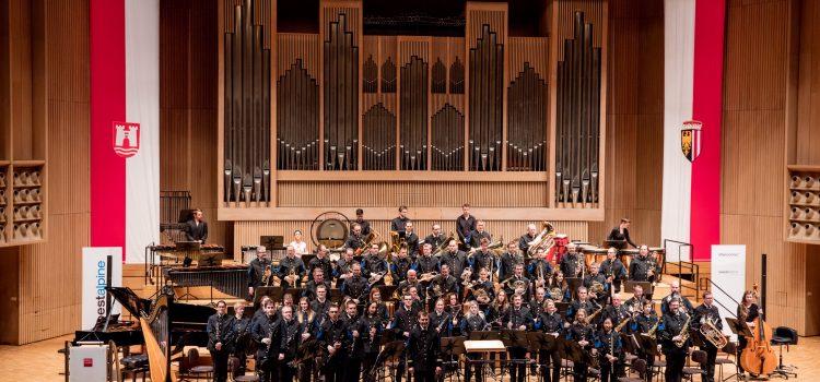 voestalpine Blasorchester aus Linz beim IBK!