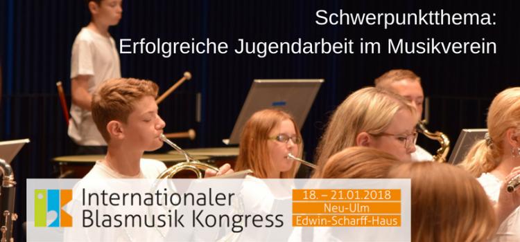 Erfolgreiche Jugendarbeit im Musikverein – Schwerpunktthema beim IBK!