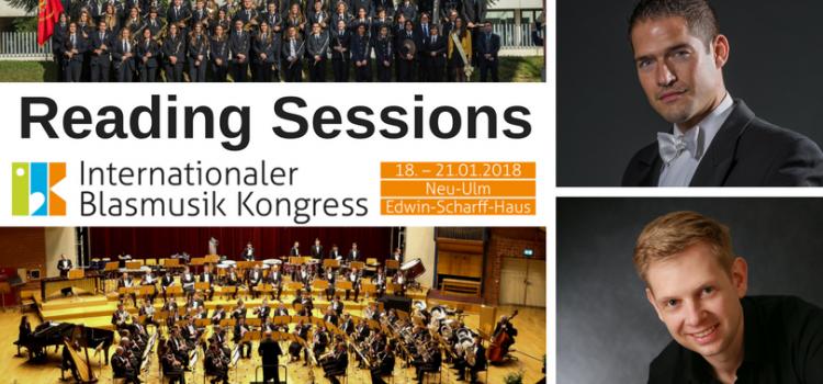 Reading Sessions beim IBK – Neue Literatur für Blasorchester Grad 1 – 3 und für Bläserklassen