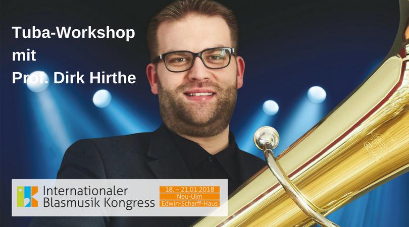 Tuba-WorkshopmitProf. Dirk Hirthe
