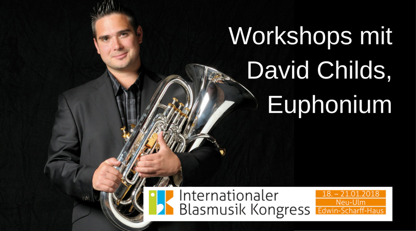 Workshops mit David Childs, Euphonium