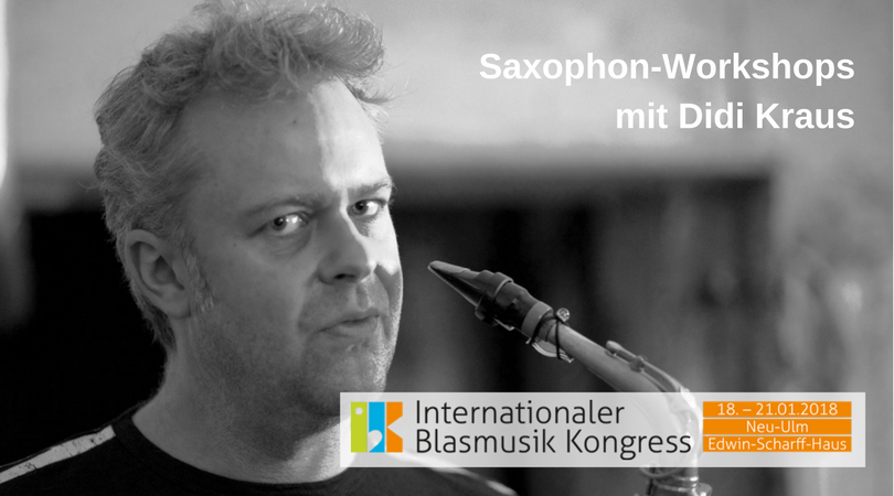 Saxophon-Workshops mit Didi Kraus
