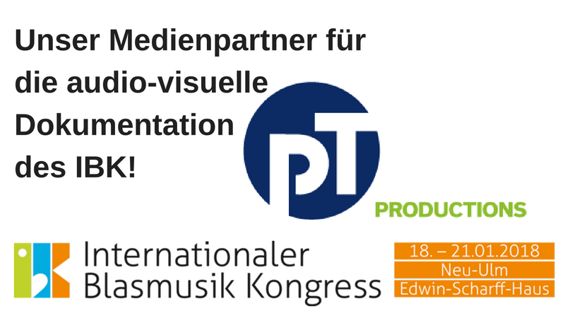 Unser Medienpartner fürdie audio-visuelle Dokumentation des IBK!