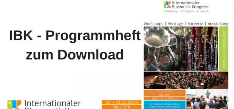 IBK Programmheft zum Download!