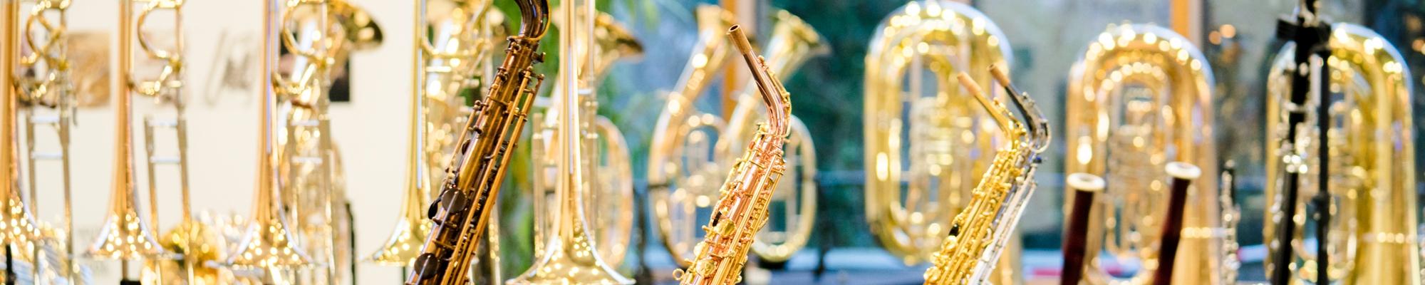 Noten- und Instrumentenausstellung