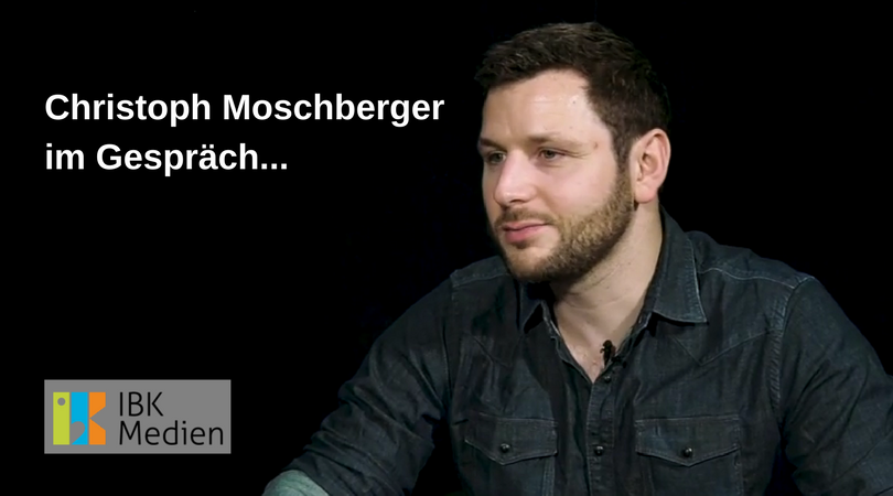 Christoph Moschberger im Gespräch