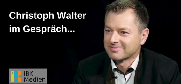 IBK Medien: Christoph Walter im Gespräch mit Klaus Härtel – Video