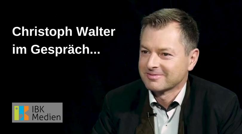 Christoph Walter im Gespräch