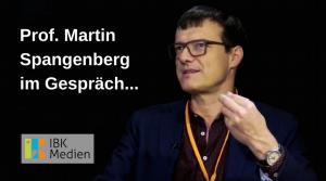 Martin Spangenberg im Gespräch...