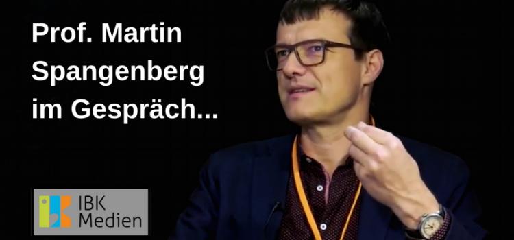 IBK Medien: Prof. Martin Spangenberg im Gespräch mit Klaus Härtel – Video