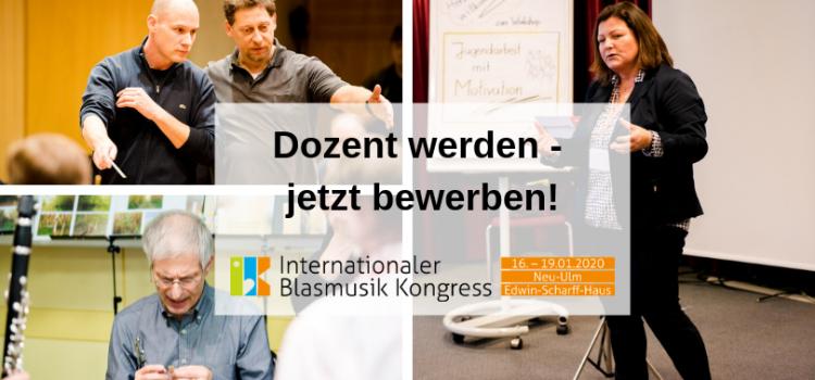 Dozent werden beim IBK 2020
