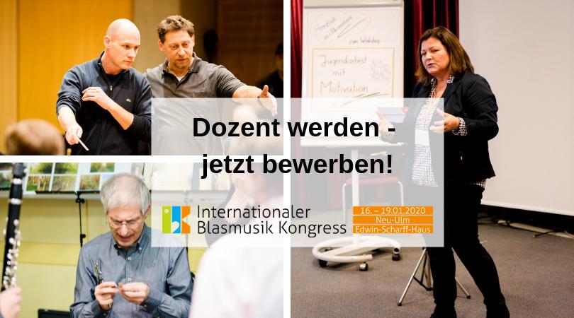 IBK 2020 Dozent werden