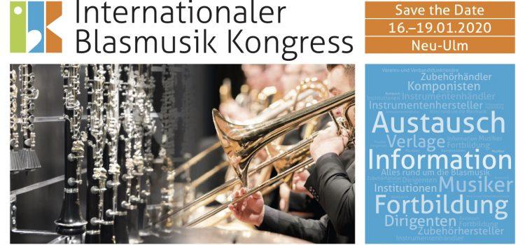 In 365 Tagen beginnt der 2. Internationale Blasmusik Kongress IBK 2020 – Der Ticket-Verkauf hat begonnen!