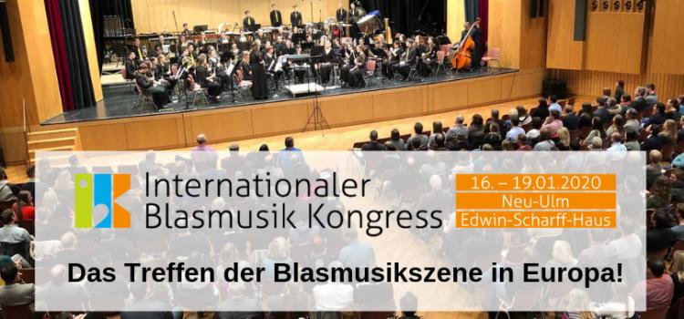 IBK 2020: das Treffen der Blasmusikszene in Europa!