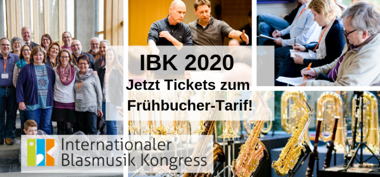 IBK 2020 – Jetzt Tickets zum Frühbucher-Tarif!
