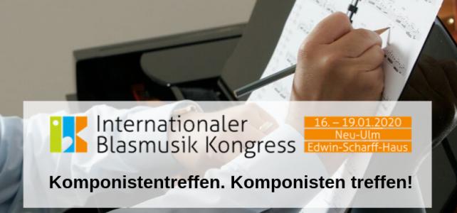 IBK 2020 – Komponistentreffen. Komponisten treffen!