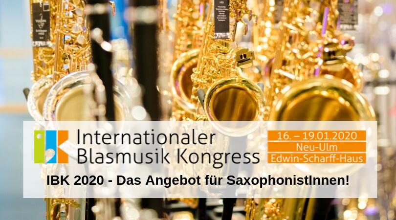 IBK 2020 SaxophonistInnen
