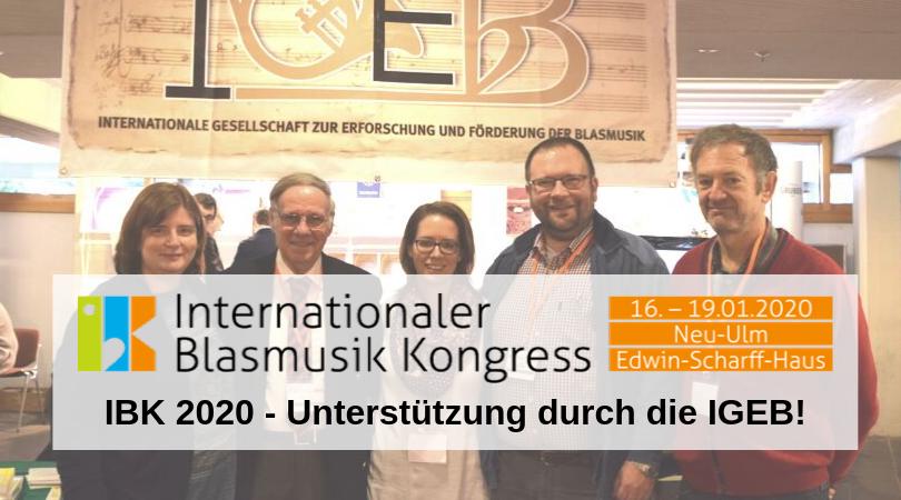 IBK 2020 - Vorträge der IGEB!