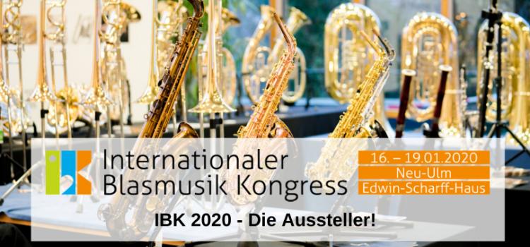 IBK 2020 – Die Aussteller!