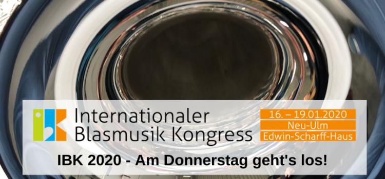 Am Donnerstag ist es soweit: der IBK 2020 beginnt!