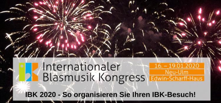 IBK 2020 – So organisieren Sie Ihren IBK-Besuch!